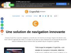 CryptoTab - Gagnez des bitcoins !