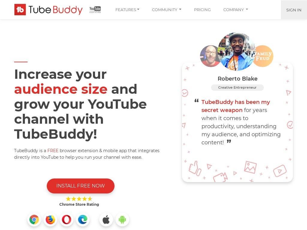 tubebuddy - toutinfos.com
